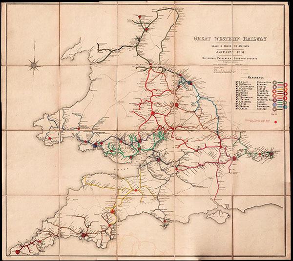 Map Of England Rail.England Railway Maps South West