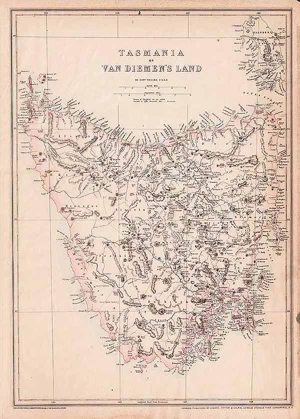 Map Of Western Australia 26th Parallel.Australia New Zealand Antique Prints Maps